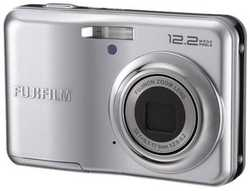 Fujifilm Finepix A220 Silver Digital Camera  12 2MP  3x Opt  SDHC Card Slot