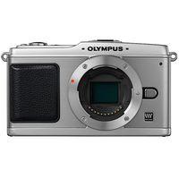 Olympus E-P1 Black 12 3 Megapixel Digital Camera - E-P1
