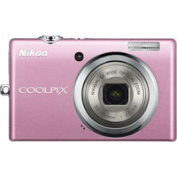 Nikon CoolPix S570 Pink Digital Camera  12MP  5x Opt  SDHC Card Slot