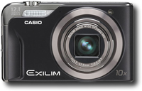 Casio Exilim EX-H10 Black Digital Camera  12 1MP  10x Opt  SDHC Card Slot