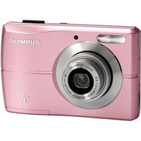 Olympus Corporation FE-26 Pink 12 MP 3X Zoom Digital Camera  227090