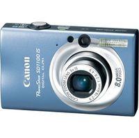 Canon PowerShot SD1100 IS Blue Digital Camera  8 0MB  3264x2448  MMC SD SDHC Card Slot