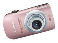 Canon PowerShot SD960 IS Pink Digital Camera  12 1MP  4x Opt  MMC MMCPlus SD SDHC Card Slot