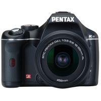 Pentax K-x Black SLR Digital Camera Kit w  18-55mm   55-300mm Lens  12 4MP  SDHC Card Slot