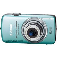 Canon PowerShot SD980 IS Blue Digital Camera  12 1MP  5x Opt  MMCplus SDHC Card Slot