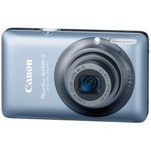 Canon PowerShot SD940 IS Blue Digital Camera  12 1MP  4x Opt  MMCplus SDHC Card Slot