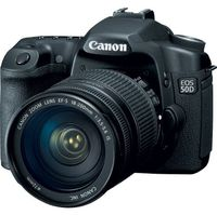 Canon EOS 50D Black SLR Digital Camera Kit w  18-200mm Lens  15 1MP  CompactFlash Card Slot