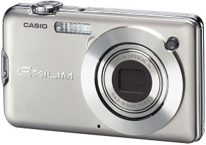 Casio Exilim Card EX-S12 Silver Digital Camera  12 1MP  3x Opt  SD SDHC Card Slot