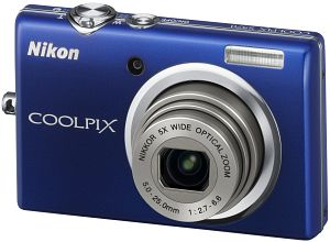 Nikon CoolPix S570 Blue 12 MP 5X Zoom Digital Camera