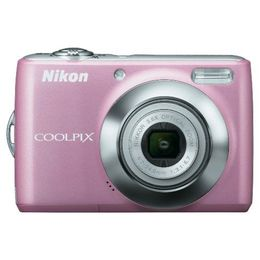 Nikon Coolpix S230 Pink Digital Camera  10MP  3x Opt  SD SDHC Card Slot