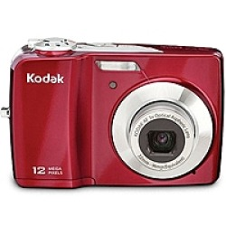 Kodak EasyShare C182 Digital Camera  12MP  3x Zoom  Red