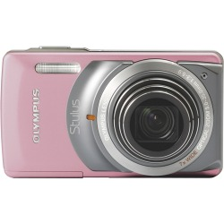 Olympus Stylus-7010 Pink Digital Camera  12MP  7x Opt  xD-Picture Card Slot