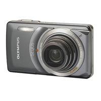 Olympus Stylus 7010 Digital Camera - 12 Megapixel 7x Optical Zoom 2 7 LCD 36MB Internal Memory xD-Pi