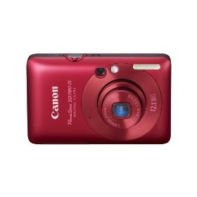 Canon 12 1 Megapixel Powershot SD780IS Digital Camera Red 1ea