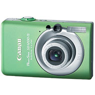 Canon 10 Megapixel Powershot SD1200 IS Digital Camera Green 1ea