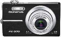 Olympus FE-370 Pink Digital Camera  8MP  5x Opt  xD-Picture Card Slot