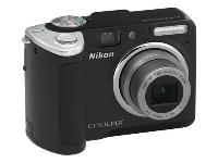 Nikon Coolpix P50 Black Digital Camera  8 1MP  3264x2448  3x Opt  52MB Internal Memory  SD SDHC Card Slot