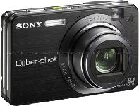 Sony Cyber-shot W150 Red Digital Camera  8 1MP  3264x2448  3x Opt  15MB Internal Memory  Memory Stick Duo PRO Card Slot