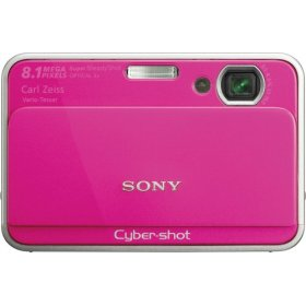 Sony Cyber-shot DSC-T2 Pink Digital Camera  8 1MP  3264x2448  3x Opt  4GB Internal Memory  Memory Stick Duo Memory Stick PRO Duo Card Slot