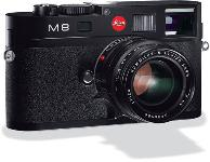 Leica M8 2 Rangefinder Digital Camera Body  Black   10 3 Megapixel  Uses all Leica M Lenses  Supports 6 Bi