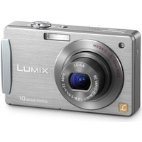 Panasonic Lumix DMC-FX500 Silver Digital Camera  10 1 MP  3648x2736  5x Opt  50MB Internal Memory  MMC SD SDHC Card Slot