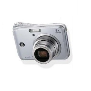 GE GE A950 Silver Digital Camera