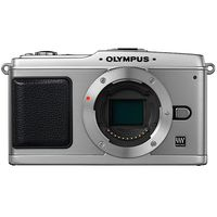 Olympus Corporation E-P1 Silver 12 3 MP Digital SLR Camera Body Only No Lens Included - MSRP 749 99
