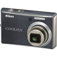 Nikon Coolpix S610 Gray Digital Camera  10MP  4x Opt  SD SDHC Card Slot