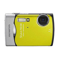 Olympus Stylus 790 SW Green Digital Camera  7 1MP  3072x2304  3x Opt  14 7MB Internal Memory  xD-Picture Car Slot