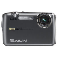 Casio Exilim EX-FS10 Gray Digital Camera  9 1MP  3x Opt  SDHC Card Slot