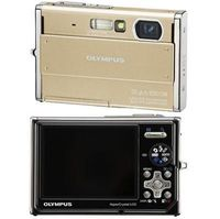 Olympus Stylus 1050SW Gold Digital Camera  10 1MP  3x Opt  xD-Picture Card Slot