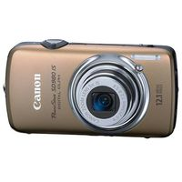 Canon PowerShot SD980 IS Gold Digital Camera  12 1MP  5x Opt  SDHC Card Slot