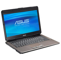 Asus N81VP-D1 Notebook  2 8GHz Intel Core 2 Duo Mobile T9600  4GB DDR2  320GB HDD  DVD  RW  Windows Vista Home Premium  14  LCD