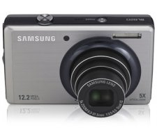 Samsung SL620 Silver Digital Camera  12 2MP  5x Opt  MMC SDHC Card Slot