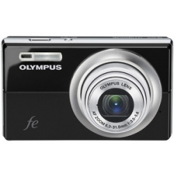 Olympus FE-5010 Black Digital Camera  12MP  5x Opt  xD-Picture Card Slot