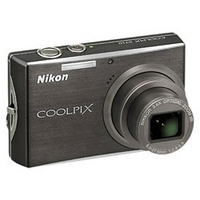 Nikon Coolpix S710 Black Digital Camera  14 5MP  3 6 Opt  SD SDHC Card Slot