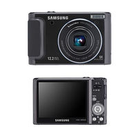 Samsung TL320 Black Digital Camera  12 2MP  5x Opt  MMC MMCplus SD Memory Card SDHC Memory Card Slot