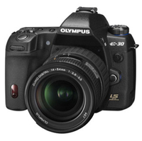 Olympus E-30 12 3 Megapixel Digital SLR Camera Body with 2 7  HyperCrystal II LCD Screen and 12-60mm f 2 8-4 0 Digital ED SWD Zoom Lens