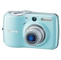 Canon PowerShot E1 Blue Digital Camera  10MP  4x Opt  SDHC Card Slot