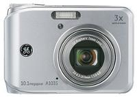 GE A1035 Silver Digital Camera
