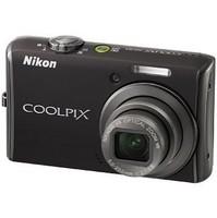 Nikon Coolpix S620 Jet Black Digital Camera  12 2MP  4x Opt  SD SDHC Card Slot