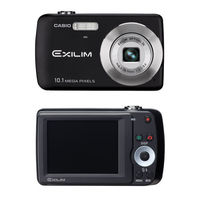 Casio EX-Z33 Digital Camera - 10 1 Megapixel 3x Optical 4x Digital Zoom 2 5 TFT LCD 16 9MB Built-in