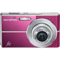 Olympus FE-3010 Pink Digital Camera  12MP  3x Opt  xD-Picture Card Slot