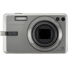 Samsung SL820 Silver Digital Camera  12 2MP  5x Opt  MMC SDHC Card Slot
