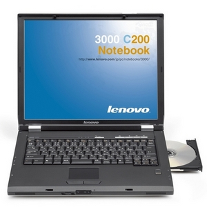 Lenovo 3000 C200 Laptop Computer - Intel Pentium Dual-Core T2060 1.6GHz, 802.11b/g Wireless, 1GB DDR (8922BGU) PC Notebook