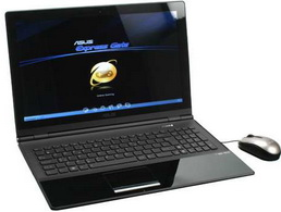 Asus UX50V-RX05 Notebook  1 4GHz Intel Core 2 Solo SU3500  4GB DDR2  500GB HDD  DVD  RW DL  Windows Vista Home Premium 64-bit  15 6  LCD