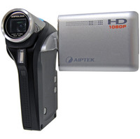Aiptek Action HD GVS 1080P High Definition Camcorder with 5x Optical Zoom
