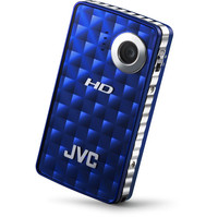 JVC Picsio 8 0MP High-Definition Digital Camcorder with 2  LCD Monitor - Blue New