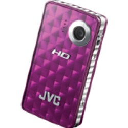 JVC Picsio 8 0MP High-Definition Digital Camcorder with 2  LCD Monitor - Purple New