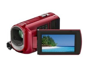 Sony Handycam DCR-SX40 R 4GB Flash Drive HD Camcorder  60x Opt  2000x Dig  2 7  LCD